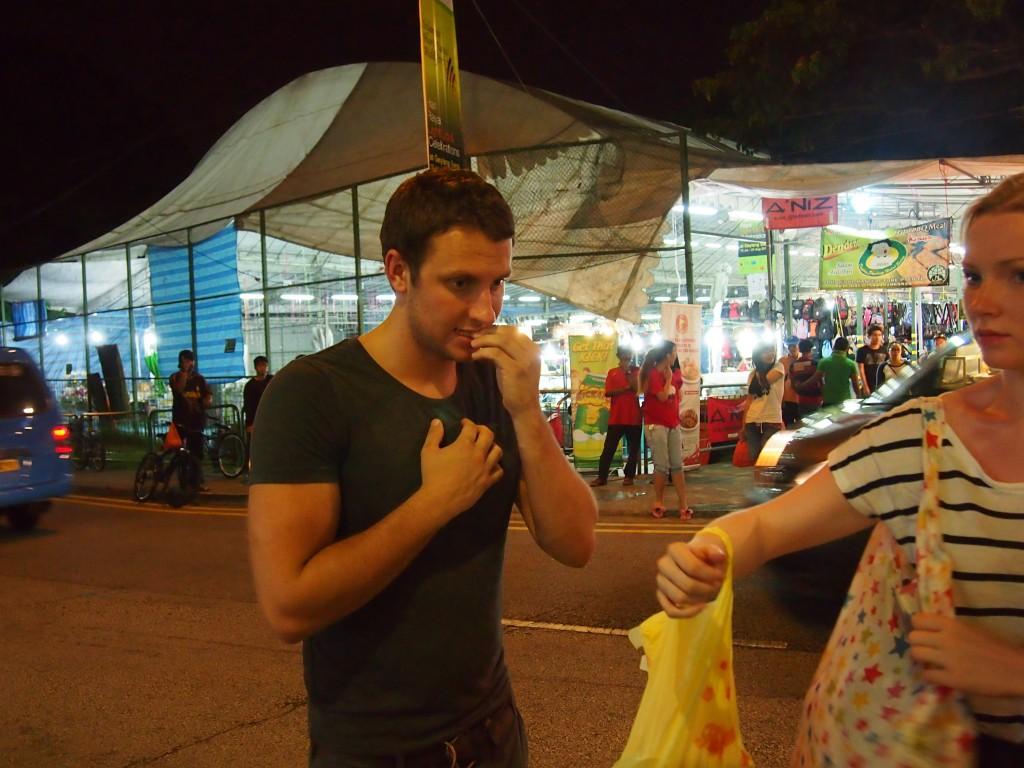 Sampling Durian