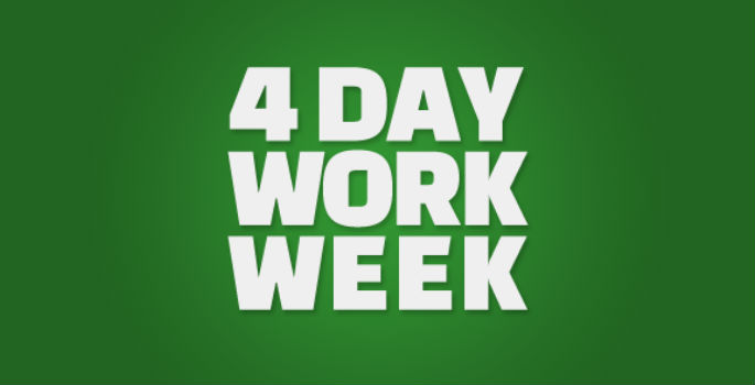 4day work week If your employer offered the opportunity to work four 10-hour days per week instead of a traditional five 8-hour-day workweek, would you take it.